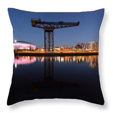 River View Panoramic Throw Pillow