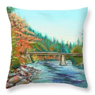 Riverdance Throw Pillow
