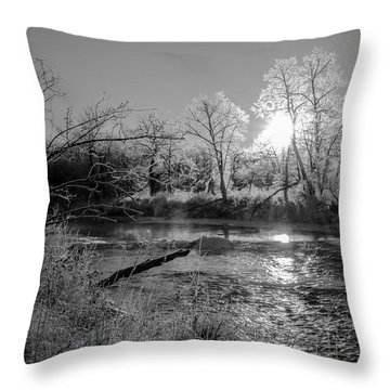 Rivers Edge Throw Pillow