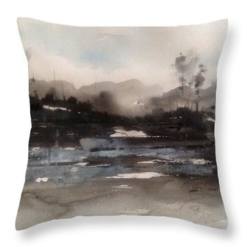 Rivers Of Light Series Throw Pillow