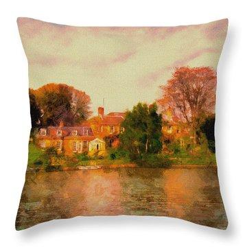 Riverview II Throw Pillow