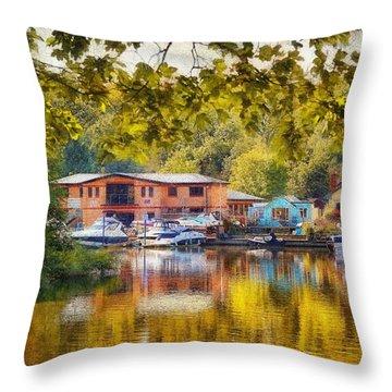 Riverview Ix Throw Pillow