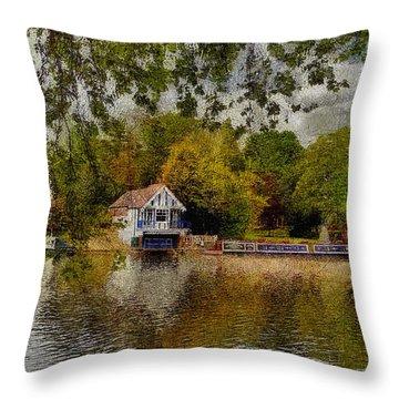 Riverview Vi Throw Pillow