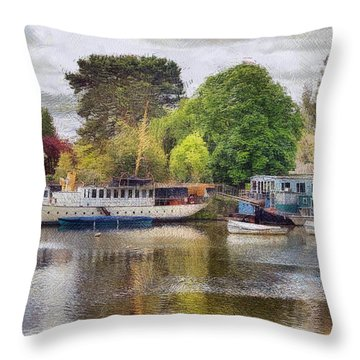 Riverview Vii Throw Pillow