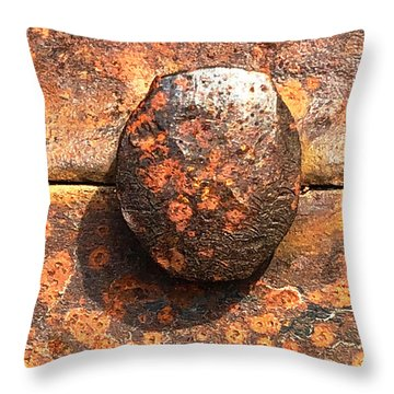 Rivet Throw Pillow