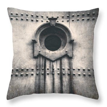 Rivets And Rust Throw Pillow