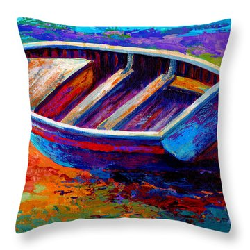 Riviera Boat IIi Throw Pillow