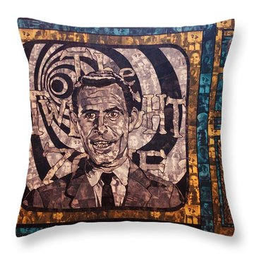 Rod Serling  Throw Pillow