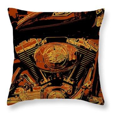 Road King Throw Pillow