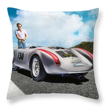 Road To Eternity Throw Pillow by Peter Chilelli