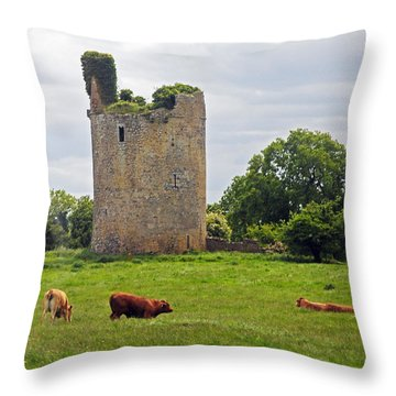 Road To Kilkenny Throw Pillow