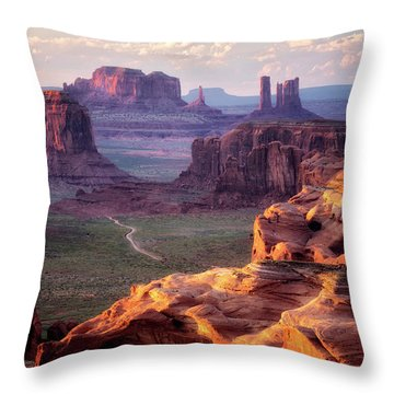 Road To Nowhere  Throw Pillow by Nicki Frates