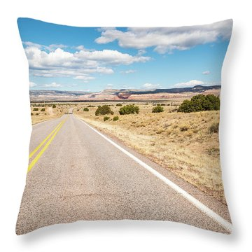 Road To San Ysidro Throw Pillow