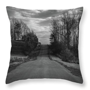 Road To Success Throw Pillow