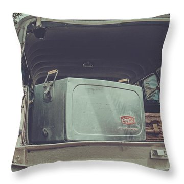 Road Trip  Throw Pillow by Off The Beaten Path Photography - Andrew Alexander