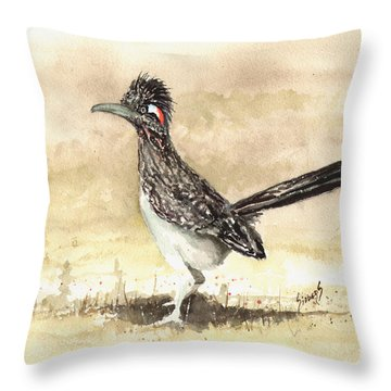 Roadrunner Throw Pillows