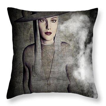Throw Pillow featuring the digital art Roads Untraveled by Riana Van Staden