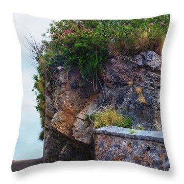 Roadway Wall Throw Pillow