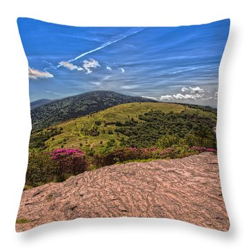 Roan High Knob Throw Pillow