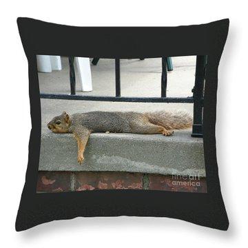 Roasting Throw Pillow