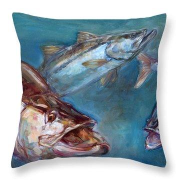 Rays Open Throw Pillows