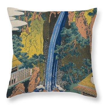 Roben Waterfall At Ohyama Throw Pillow