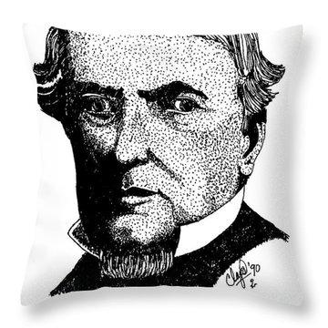 Robert Campbell Throw Pillow