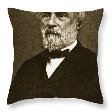 Robert Edward Lee Throw Pillow