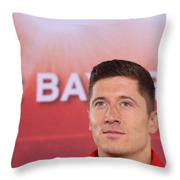 Lewandowski Throw Pillows