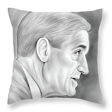 Robert Mueller Throw Pillow