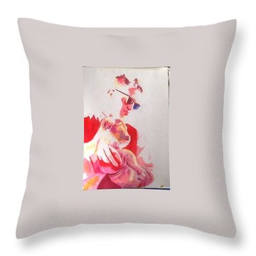 Robert Pattinson 311 Throw Pillow
