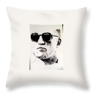Robert Pattinson 313 Throw Pillow