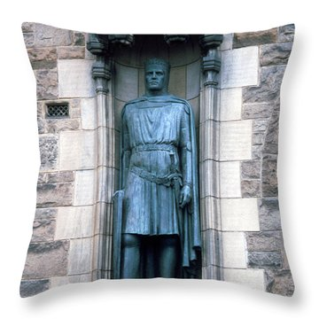 Robert The Bruce Throw Pillow