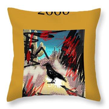 Roberto Bolano 2666 Poster  Throw Pillow