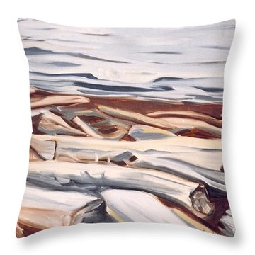 Roberts Creek, Sunshine Coast, B.c. Throw Pillow
