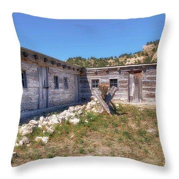 Robidoux Trading Post Throw Pillow