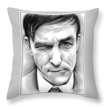 Robin Lord Taylor II Throw Pillow