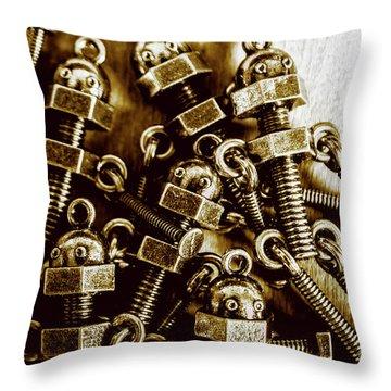 Roboltics Throw Pillow