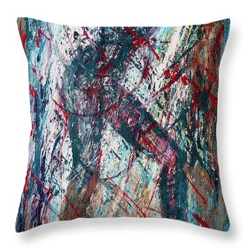 Rock And Roll Throw Pillow