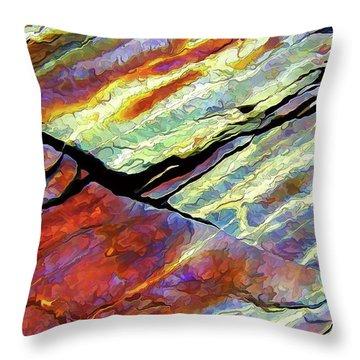 Rock Art 16 Throw Pillow