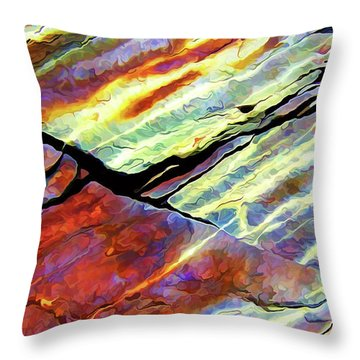 Rock Art 16 Throw Pillow