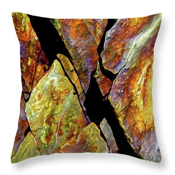 Rock Art 17 Throw Pillow