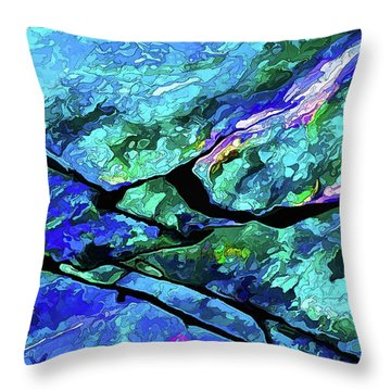 Rock Art 18 Throw Pillow