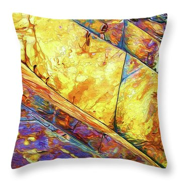 Rock Art 23 Throw Pillow