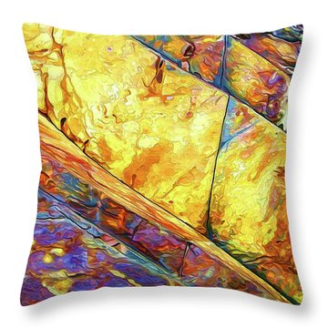 Throw Pillow featuring the photograph Rock Art 23 by ABeautifulSky Photography