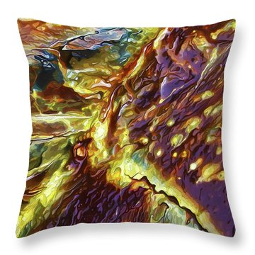 Rock Art 28 Throw Pillow