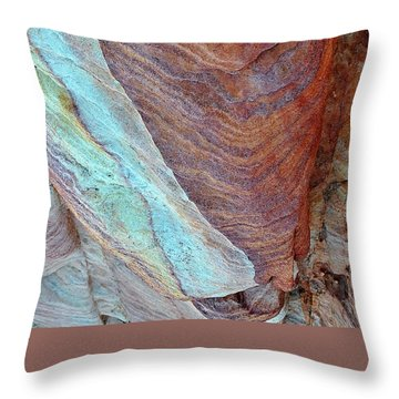 Rock Candy Throw Pillow