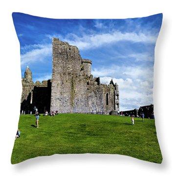 Rock Cashel Throw Pillow
