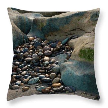 Rock Cradle Throw Pillow by Randy Bayne