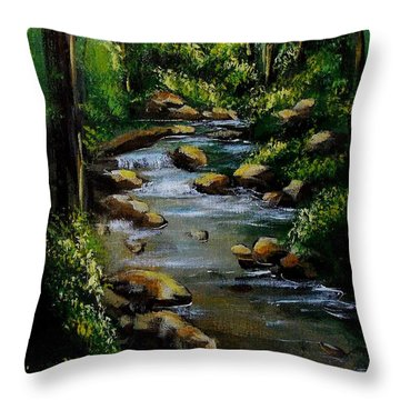 Rock Creek Throw Pillow